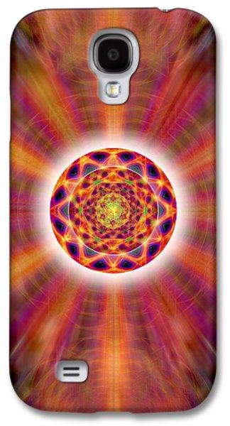 Crystal Ball Of Light Galaxy S4 Case by Derek Gedney