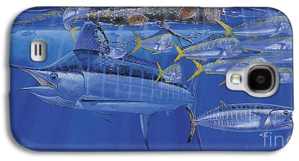 Crystal Blue Off00100 Galaxy S4 Case
