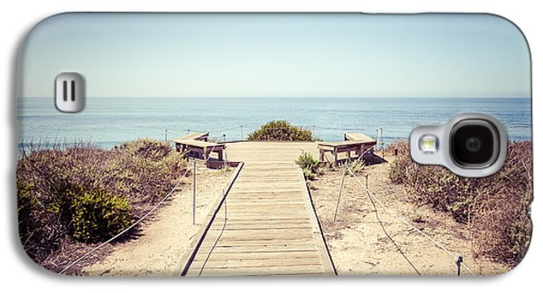 Crystal Cove Overlook Retro Picture Galaxy S4 Case by Paul Velgos