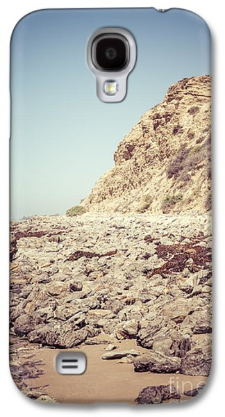 Crystal Cove State Park Cliff Picture Galaxy S4 Case by Paul Velgos