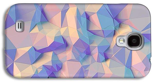 Crystal Triangle Galaxy S4 Case by Vitaliy Gladkiy