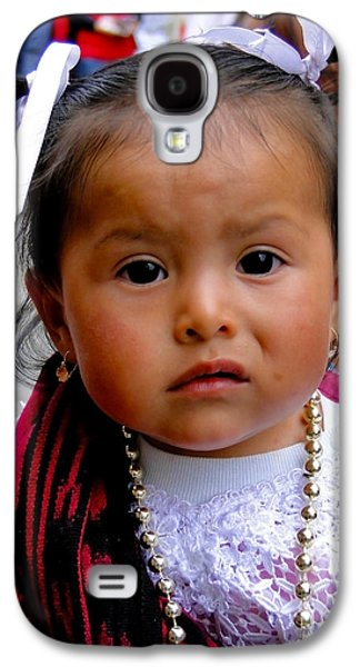 Cuenca Kids 383 Galaxy S4 Case by Al Bourassa