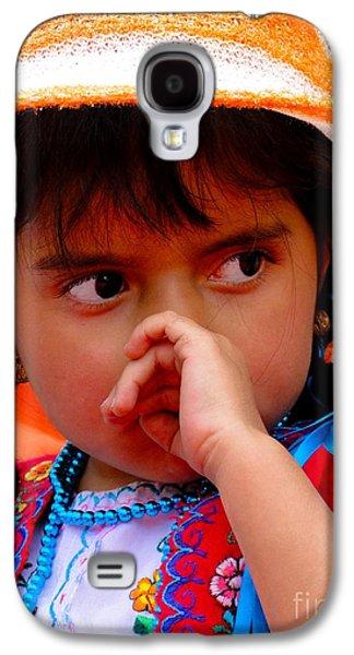 Cuenca Kids 398 Galaxy S4 Case by Al Bourassa