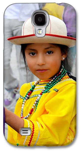 Cuenca Kids 439 Galaxy S4 Case by Al Bourassa