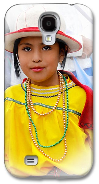 Cuenca Kids 441 Galaxy S4 Case by Al Bourassa