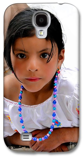 Cuenca Kids 448 Galaxy S4 Case by Al Bourassa
