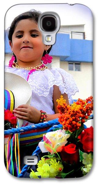 Cuenca Kids 453 Galaxy S4 Case by Al Bourassa