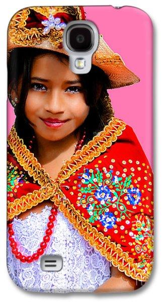 Cuenca Kids 494 Galaxy S4 Case by Al Bourassa