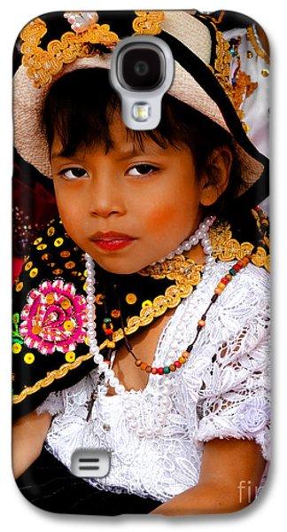 Cuenca Kids 497 Galaxy S4 Case by Al Bourassa