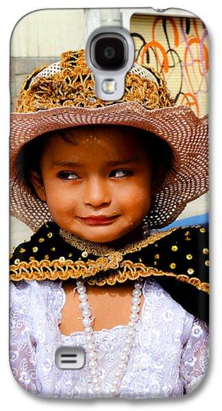 Cuenca Kids 498 Galaxy S4 Case by Al Bourassa