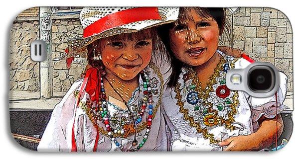 Cuenca Kids 505 Galaxy S4 Case by Al Bourassa