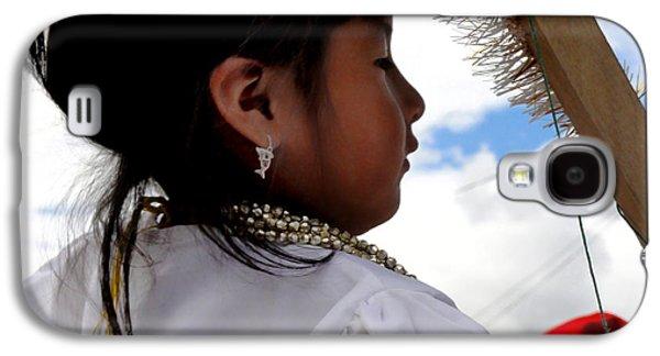 Cuenca Kids 544 Galaxy S4 Case by Al Bourassa