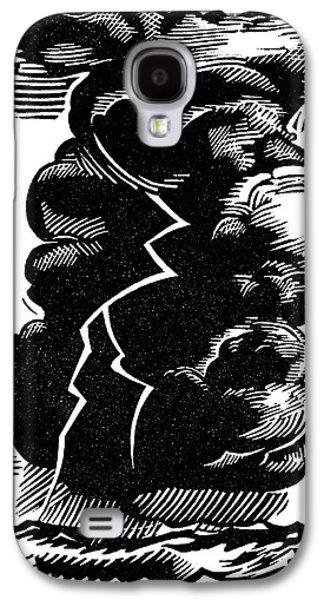 Cumulonimbus Thunderstorm Galaxy S4 Case