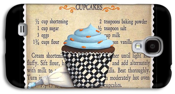 Cupcake Masterpiece Galaxy S4 Case by Catherine Holman