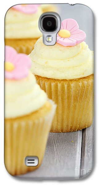 Cupcakes In A Row Galaxy S4 Case