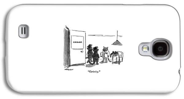 Curiosity Galaxy S4 Case