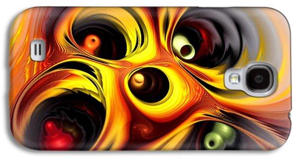 Curious Galaxy S4 Case by Anastasiya Malakhova