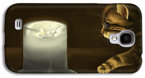 Curious Cat Galaxy S4 Case