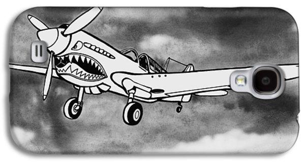 Curtiss P-40 Warhawk 2 Galaxy S4 Case