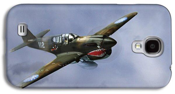 Curtiss P-40 Warhawk Galaxy S4 Case by Diane Diederich