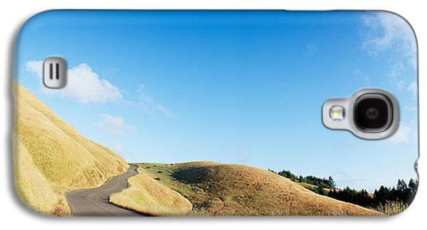 Curved Road On The Mountain, Marin Galaxy S4 Case by Panoramic Images