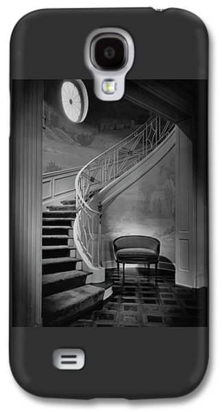 Curving Staircase In The Home Of  W. E. Sheppard Galaxy S4 Case