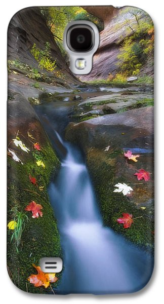 Cut Into Autumn Galaxy S4 Case by Peter Coskun