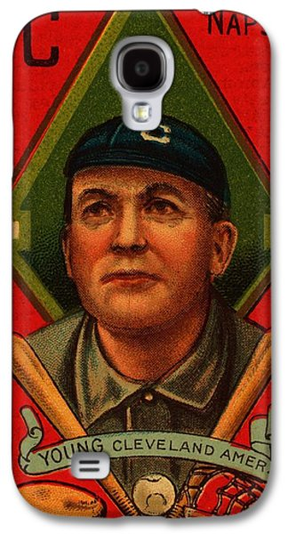 Cy Young 1911 Baseball Card Galaxy S4 Case