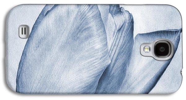 Cyanotype Tulip Galaxy S4 Case by John Edwards