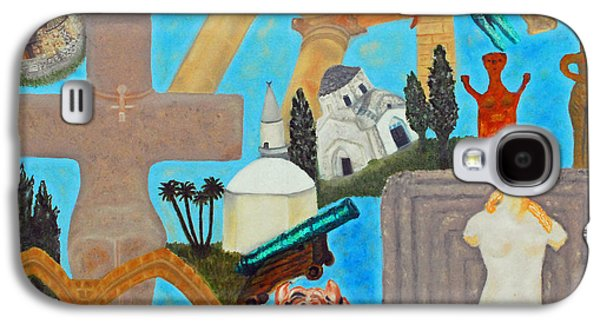 Cyprus History Galaxy S4 Case by Augusta Stylianou