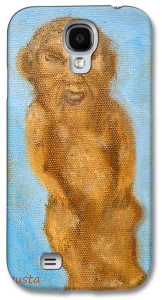 Cyprus Lion-like God Galaxy S4 Case by Augusta Stylianou