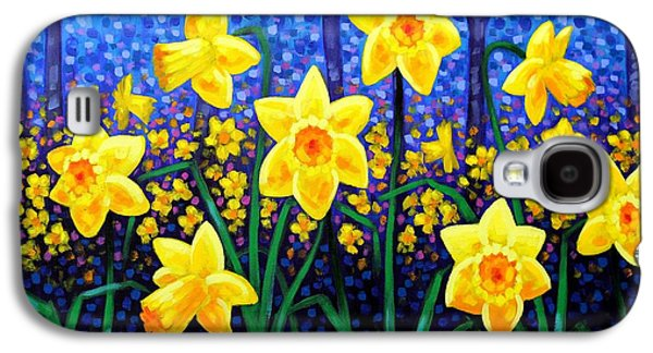 Daffodil Dance Galaxy S4 Case by John  Nolan