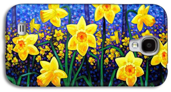 Daffodil Dance Galaxy S4 Case by John  Nolan
