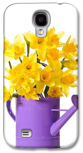 Daffodil Display Galaxy S4 Case by Amanda Elwell