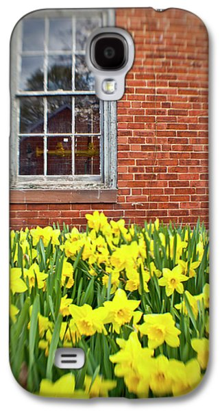 Daffodils In Portsmouth, New Hampshire Galaxy S4 Case