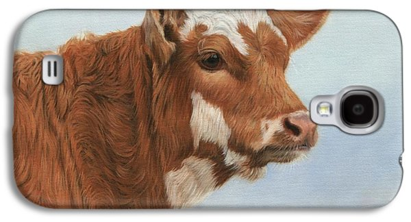 Cow Galaxy S4 Case - Daisy by David Stribbling