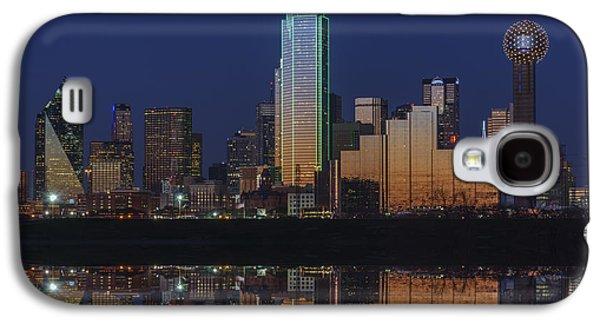 Dallas Skyline Galaxy S4 Case - Dallas Aglow by Rick Berk