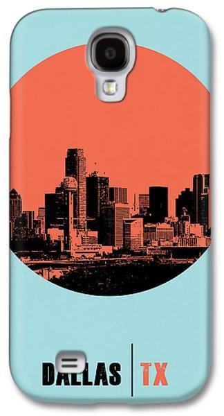 Dallas Circle Poster 1 Galaxy S4 Case