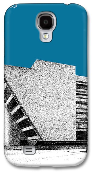 Dallas Skyline City Hall - Steel Galaxy S4 Case