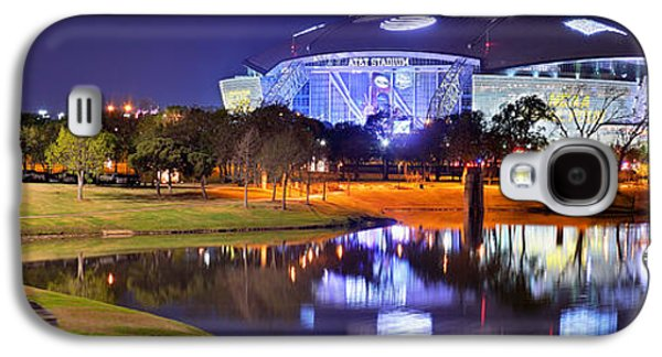 Dallas Cowboys Stadium At Night Att Arlington Texas Panoramic Photo Galaxy S4 Case