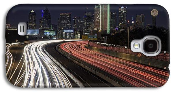 Dallas Night Galaxy S4 Case by Rick Berk