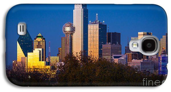 Dallas Skyline Galaxy S4 Case by Inge Johnsson