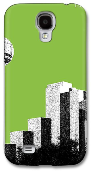 Dallas Skyline Reunion Tower - Olive Galaxy S4 Case by DB Artist