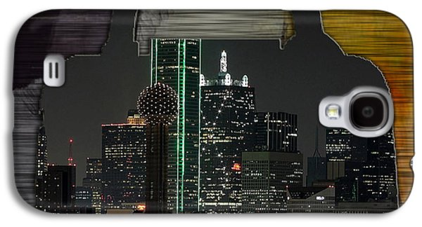 Dallas Texas Skyline In A Purse Galaxy S4 Case