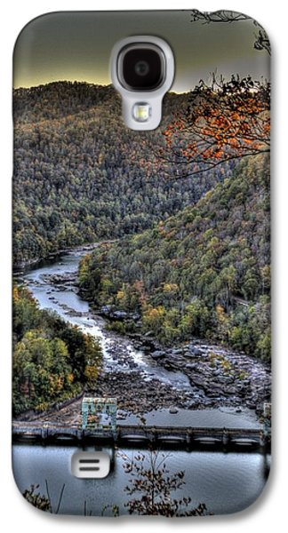 Galaxy S4 Case featuring the photograph Dam In The Forest by Jonny D