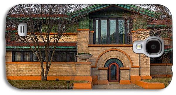 Dana Thomas House Springfield I L Galaxy S4 Case by Steve Gadomski