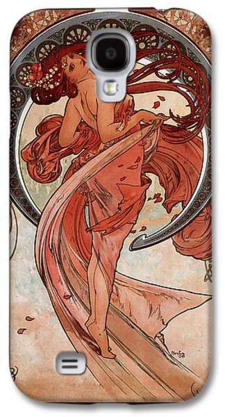 Dance Galaxy S4 Case by Alphonse Maria Mucha