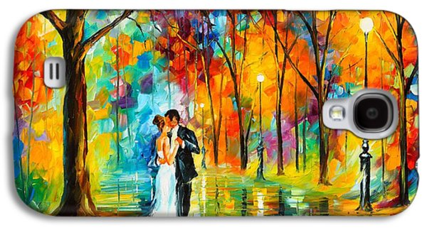 Dance Of Love Galaxy S4 Case by Leonid Afremov
