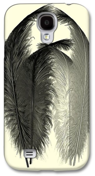 Dance Of The Feathers Galaxy S4 Case by David Dehner