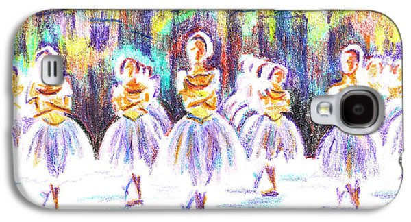 Dancers In The Forest II Galaxy S4 Case by Kip DeVore